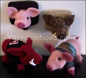 Pig Crochet Pattern