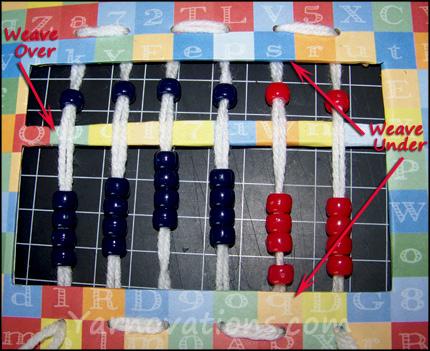 weaving beads