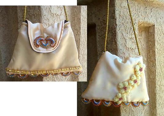 adorned purse