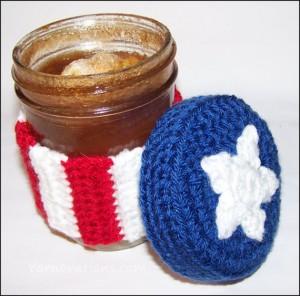 crochet american flag
