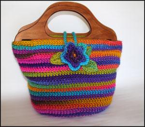 Bohemian Handbag Crochet Pattern
